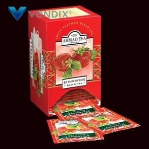 Ahmad Tea London - herbata starwberry 20tb aluminium horeca