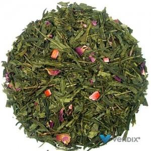 Herbata zielona Japońska Wiśnia na bazie China Sencha