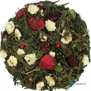 Herbata zielona Pieśń Smoka na bazie China Sencha